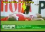 کلیپ لحظه مرگ یک فوتبالیست