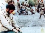تصاویر نماز در جنگ