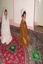 اشعار کودکانه برای تشهد و سلام نماز