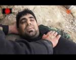 فیلم  لحظه شهادت شهید علی انصاری در مبارزه با داعش (واقعا دیدنی)