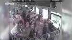 کلیپ لحظه وحشتناک سقوط اتوبوس به دره